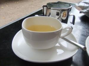 herbal tea infusion